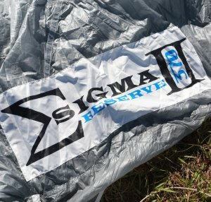 Sigma New Reserve Canopy Release